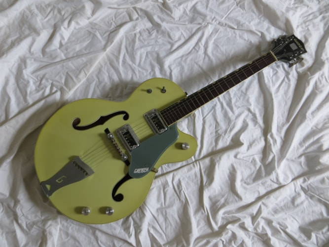 1959 Gretsch Double Anniversary Green, Good, Hard, Call For Price!