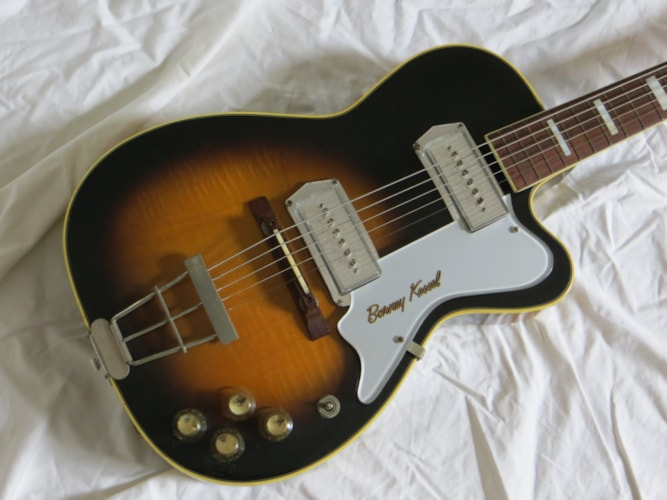 1959 Kay Barney Kessel sunburst, Excellent, Original Hard, Call For Price!