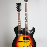 1959 Mosrite Doubleneck Owned and played by Roy Nichols,