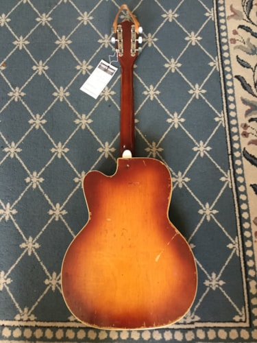 1959 Silvertone Jimmy Reed Electric Guitar Tobacco Burst, Very Good