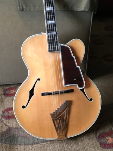 1960 D'Angelico Excel Cutaway Blonde, Near Mint, Original Hard, Call For Price!