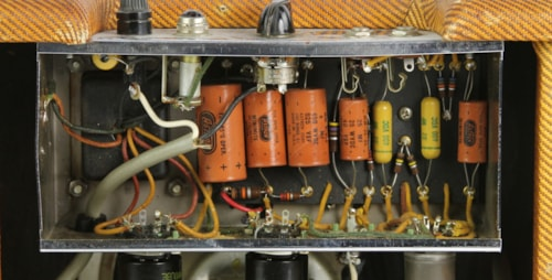 1960 Fender 5F1 Champ Tweed > Amps & Preamps | Thunder Road