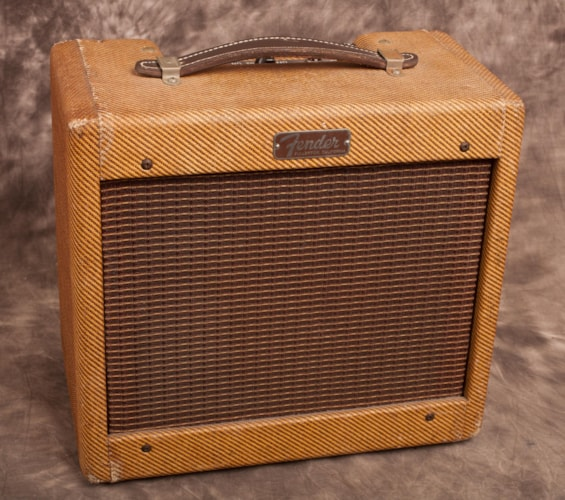 1960 Fender Champ Tweed, Excellent