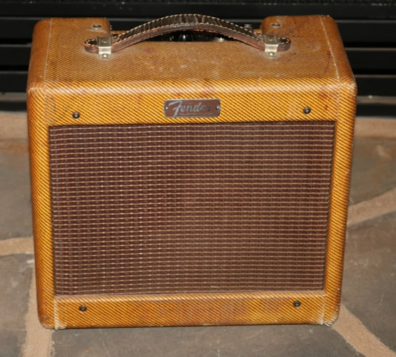 1960 Fender Champ Tweed, Very Good