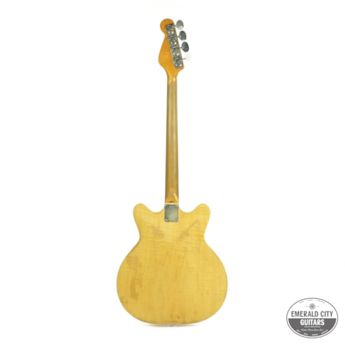 1960 Fender Coronado II Bass Natural, Fair, GigBag