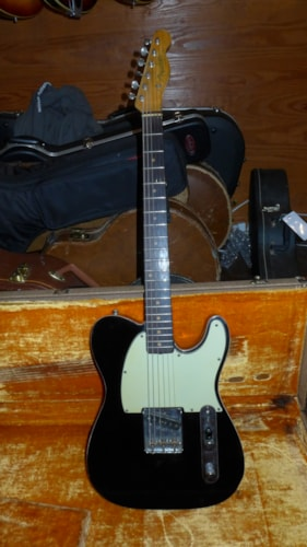 1960 Fender Esquire Custom Black, Very Good, Original Hard, $12,000.00