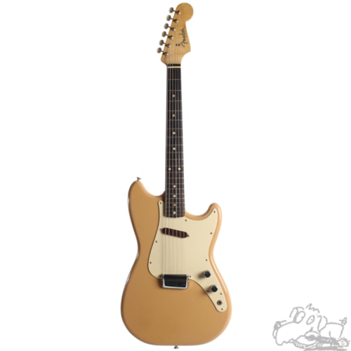 1960 Fender® Musicmaster™ Desert Sand, Near Mint, Original Hard, $1,600.00