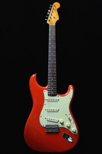 1960 Fender Stratocaster Fiesta Red OHC and Goodies