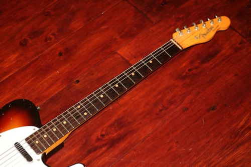 1960 Fender Telecaster, Exceedingly Rare Sunburst finish, Slab Board