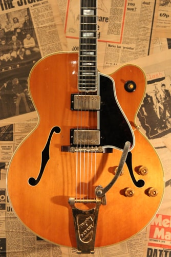 1960 Gibson Byrdland Blond, Excellent, Original Hard, Call For Price!