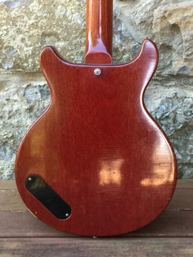 1960 Gibson EBO Cherry, Excellent, Hard, $4,889.00