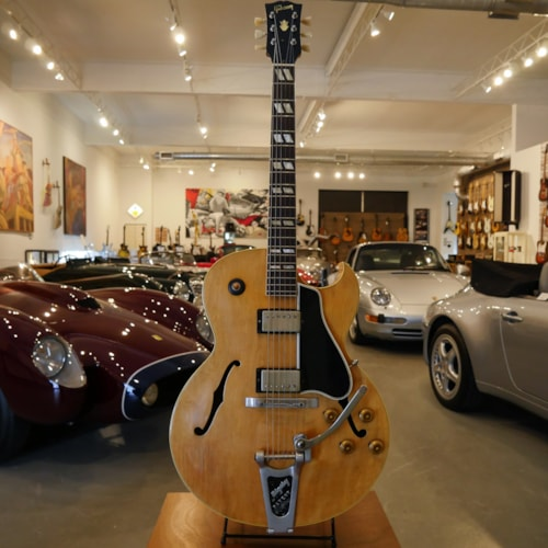 1960 Gibson ES-175 Natural Blonde, Excellent, Original Hard, $9,750.00