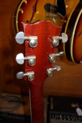 1960 Gibson ES-355 Red, Very Good, Hard, Call For Price!