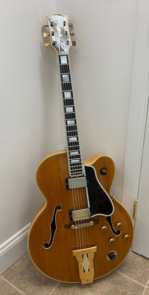 1960 Gibson L5 Ces Blonde Gt Guitars Archtop Electric