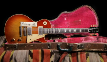1960 Gibson Les Paul Standard Johnny B Burst