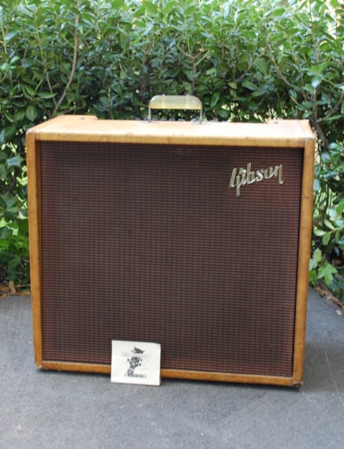1960 Gibson Varitone GA 80 T Tweed, Very Good