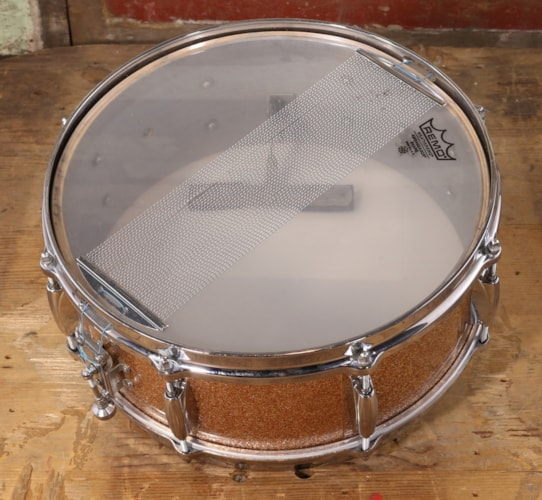 1960 Gretsch 1960's Snare Champagne Sparkle Excellent