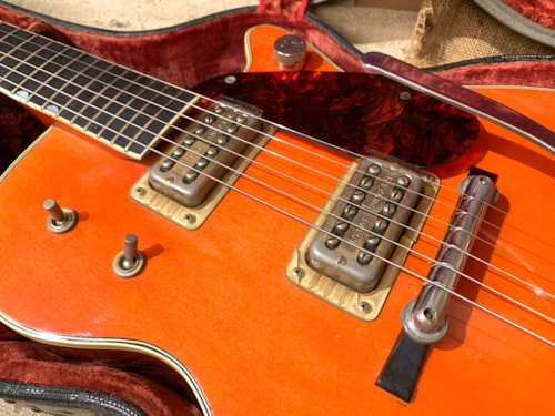 1960 Gretsch  6121 Chet Atkins Solid Body  Western Orange