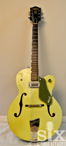 1960 Gretsch 6125 Anniversary Two toned, Smoke Green, Very Good, Original Hard, $1,788.88