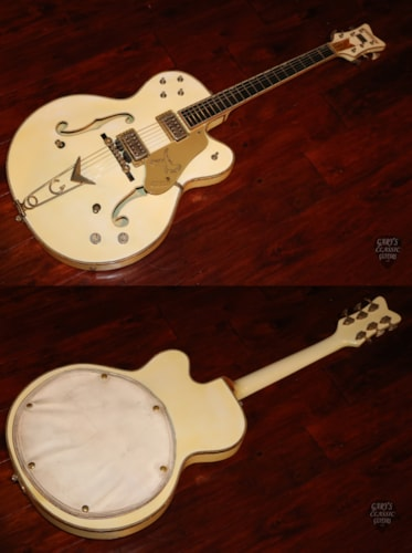 1960  Gretsch White Falcon  White