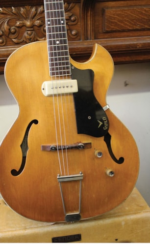 1960 Guild T-100 Natural, Very Good, Soft