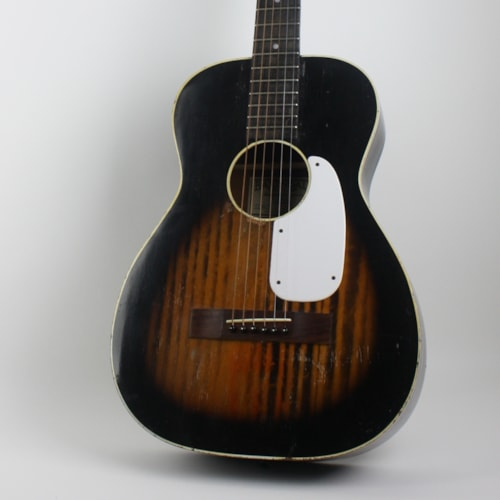 1960 Harmony-Baxendale Stella Conversion Sunburst, Very Good, Soft, $599.00