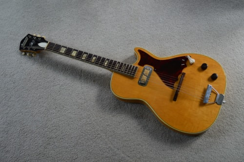 1960 Harmony Stratotone Mercury Natural, Excellent, Soft