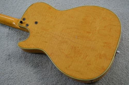 1960 Harmony Stratotone Mercury Natural > Guitars Electric Semi-Hollow on
