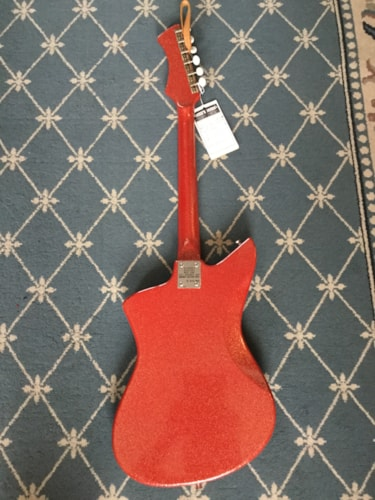 1960 Intermark  Electric Guitar (Owned by Keith Urban) Red Sparkle, Excellent
