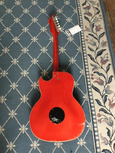 1960 Kay Speed Demon Hollow Body Electric (3 Pickups) Cherry, Very Good