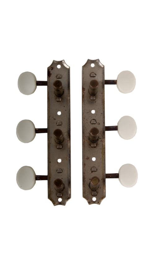 About will Kluson guitar tuners on a strip what