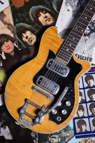 1960 Maton Mastersound (ex George Harrison) Natural, Good, Call For Price!