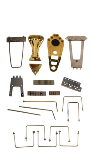 1960 Misc. Tailpiece Parts Very Good