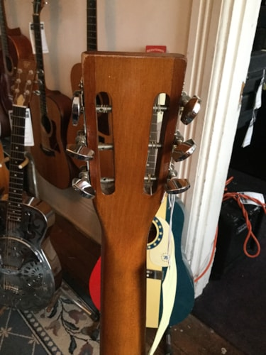 1960 National Acoustic Guitar Natural, Very Good