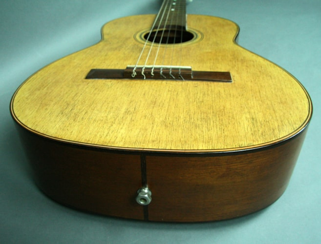 1960 NO NAME 1960's Brazilian Classical Guitar Given By Frank Sinatra To  Natural, Excellent, Hard, $2,395.00