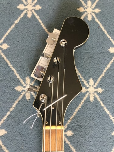 1960 Norma Sparkle Bass Red Sparkle, Very Good