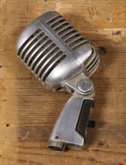 ~1960 Shure 1960's 55SW Microphone with Pouch