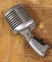 1960 Shure 1960's 55SW Microphone w/ Pouch