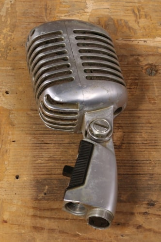 1960 Shure 1960's 55SW Microphone with Pouch Excellent