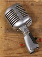 1960 Shure 1960's model 55SW Microphone with Pouch