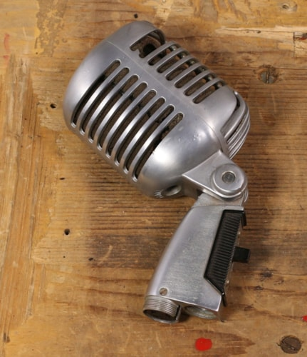 Shure 55SW Microphone 1960s