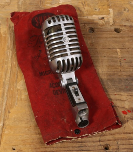 1960 Shure 1960's model 55SW Microphone w/ Pouch Excellent