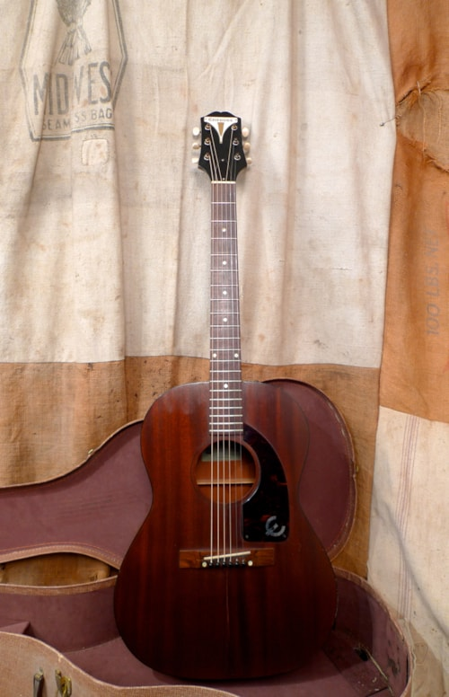 1961 epiphone caballero mahogany guitars acoustic southside guitars. Black Bedroom Furniture Sets. Home Design Ideas