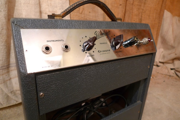 1961 Epiphone Pacemaker Near Mint, $875.00
