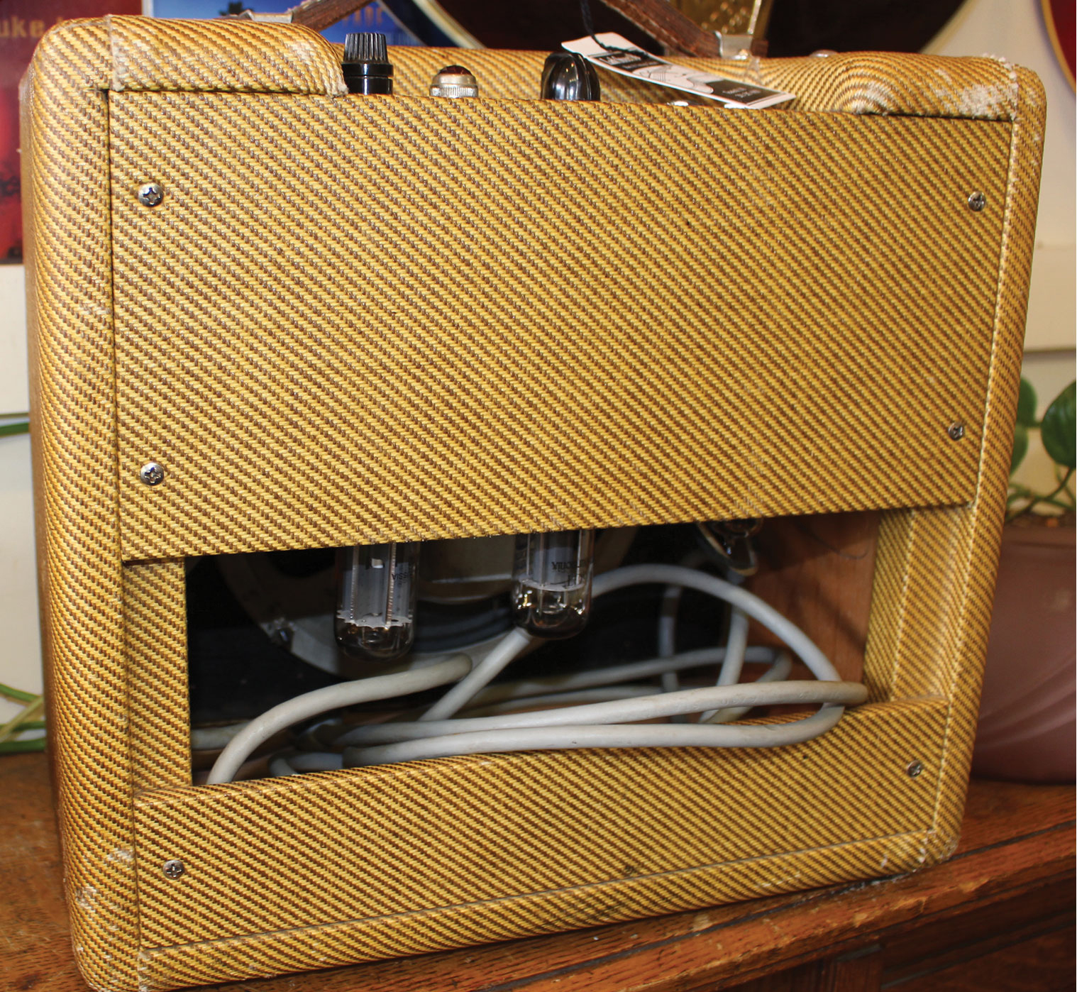 Fender Tweed Amp >> 1961 Fender Champ Amp Tweed