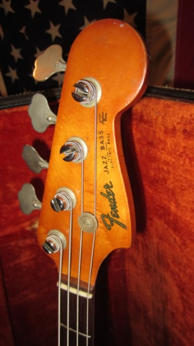 1961 Fender® Jazz Bass® White, Excellent, Original Hard, $9,495.00