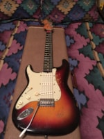 1961 Fender LEFTY 1961 Strat