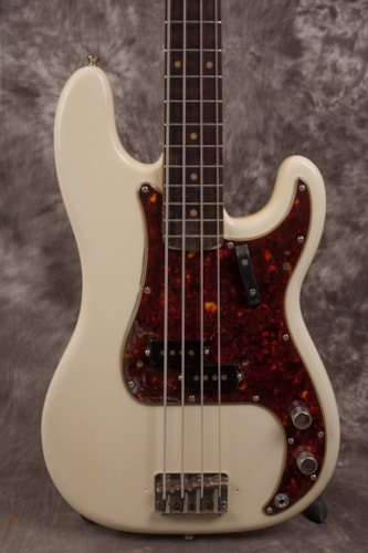 1961 Fender Precision Bass Olympic White