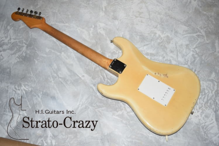1961 Fender Stratocaster Blond, Excellent, Original Hard, Call For Price!