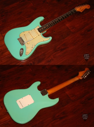 1961  Fender  Stratocaster Sea Foam Green